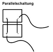 Zusammenschaltung von Batterien